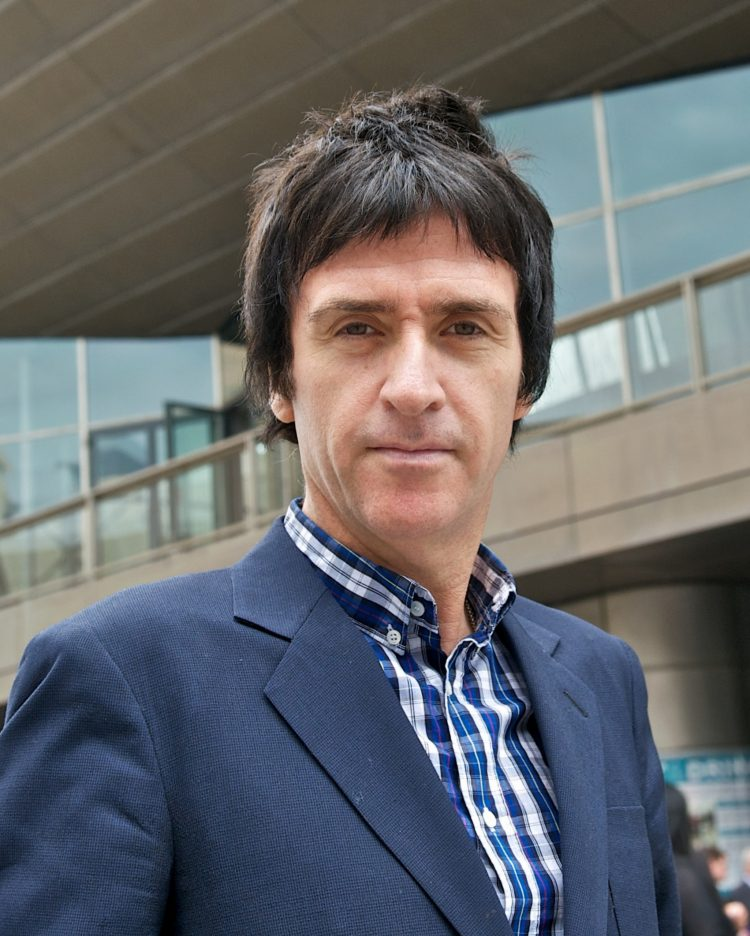Chancellor Irene KhanHonorary Graduate Award to Johnny Marr