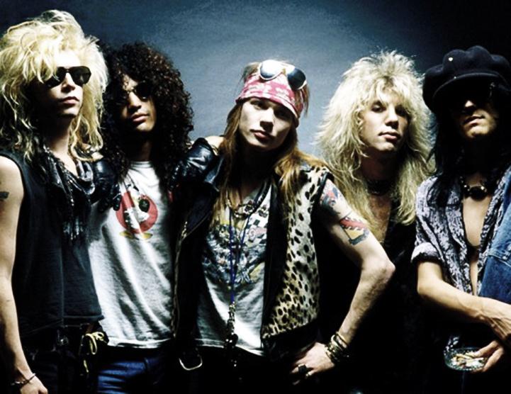 guns n roses band young