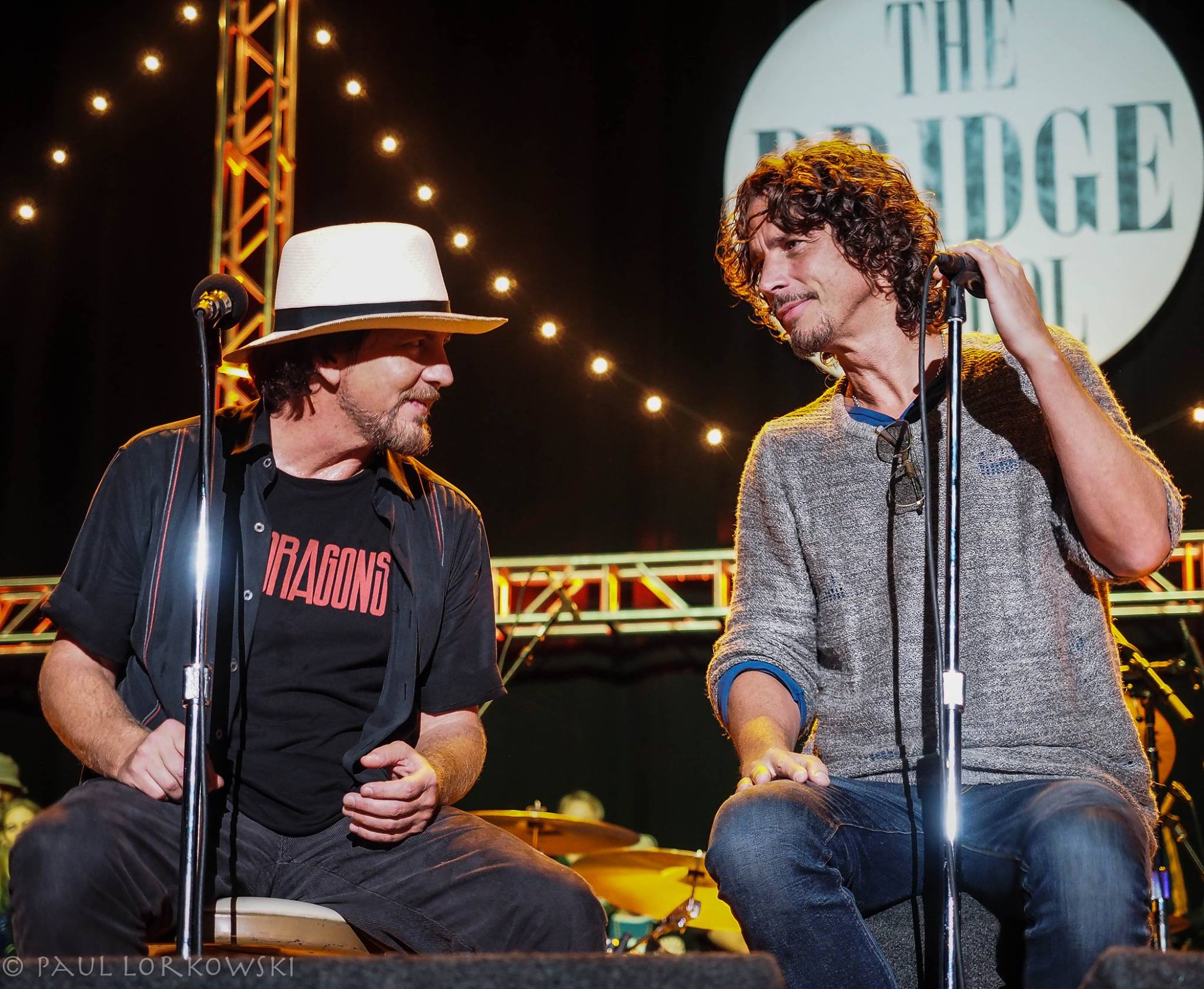 Le parole commosse di Eddie Vedder per ricordare l'amico Chris Cornell