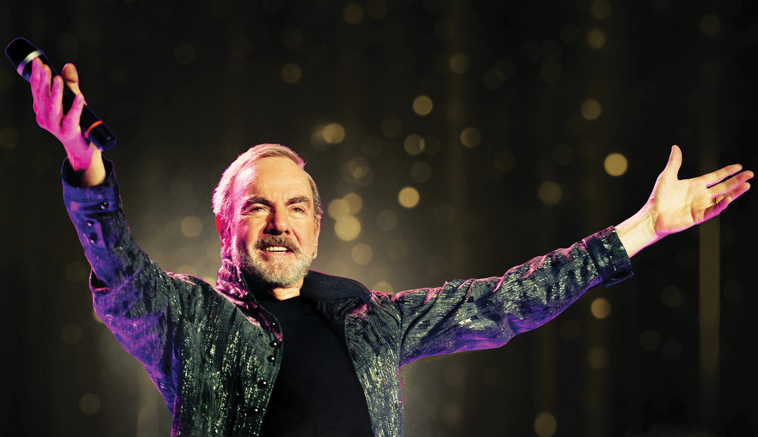 Neil Diamond, stop alla tournée: