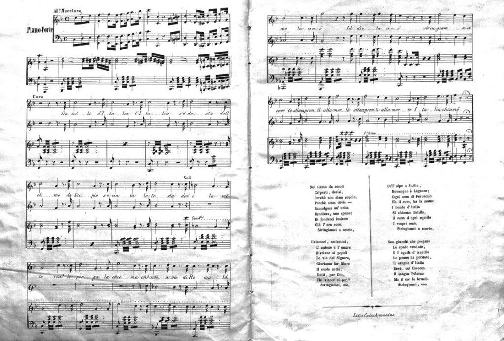 canto degli italiani