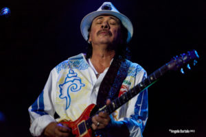 Santana, portrait, Angela Bartolo, Stonemusic