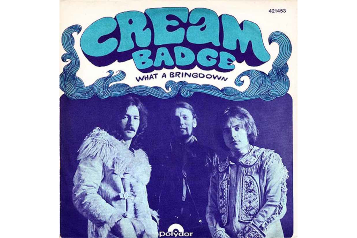 Cream, Badge, Clapton, Harrison, Stonemusic