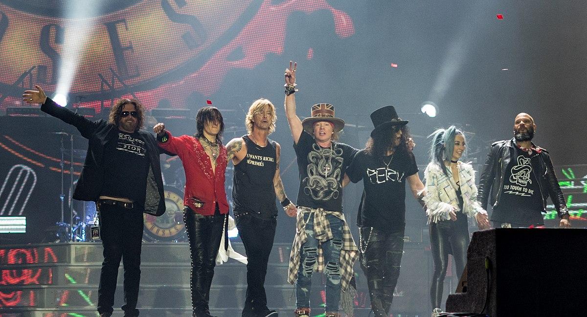 Guns N'Roses, Fortus, nuovo album, stonemusic