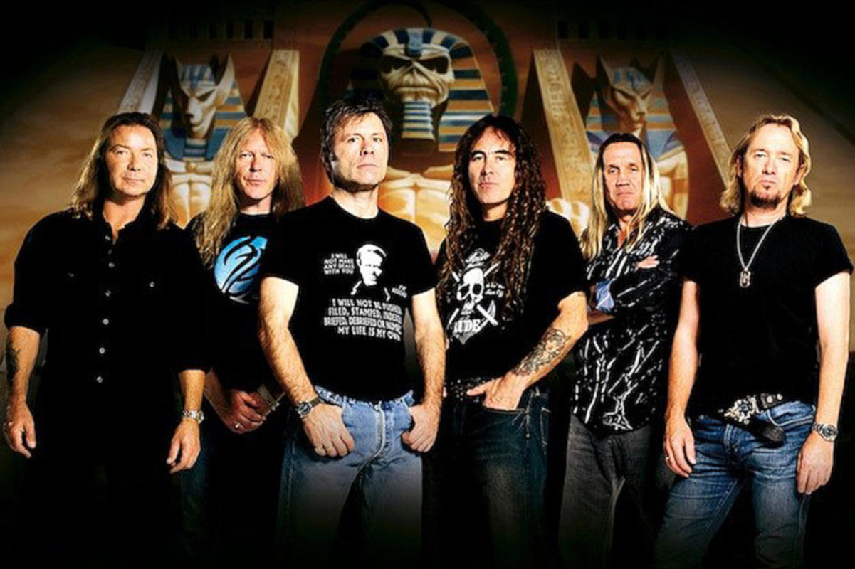 Iron Maiden, remasters, Stonemusic, Bruce DIckinson