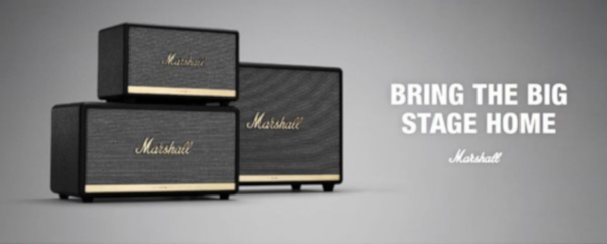 Marshall, Bluettoth, Speakers, Stonemusic