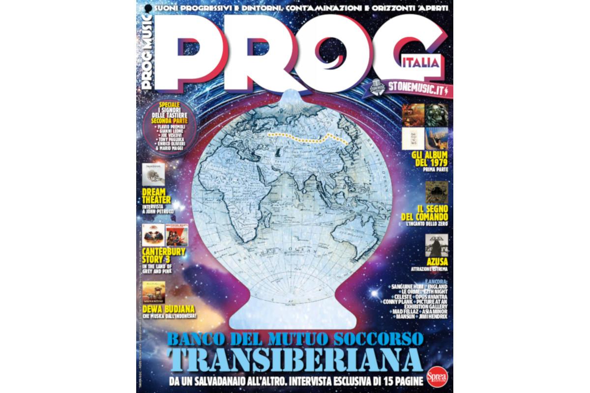 Prog, 23, nuovo numero, Stone Music, Sprea