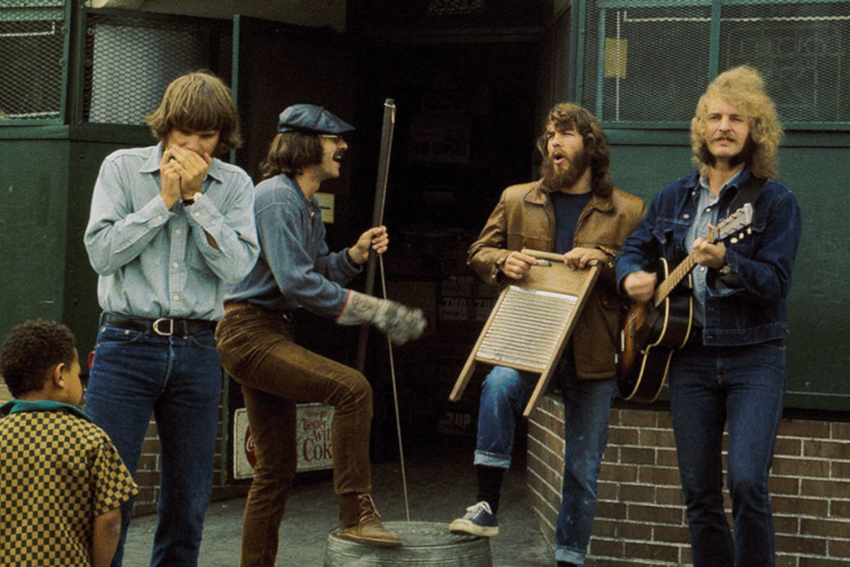 Creedence Clearwater Revival, Woodstock, Wilson Pickett, Grateful Dead, John Fogerty, Tom Fogerty, Stu Cook, Doug Clifford, Classic Rock, stonemusic.it