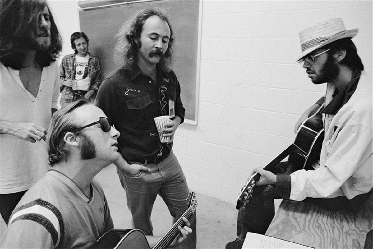 Crosby, Stills, Nash & Young, Deja Vu, Oggi nel rock, Classic Rock, Stone Music