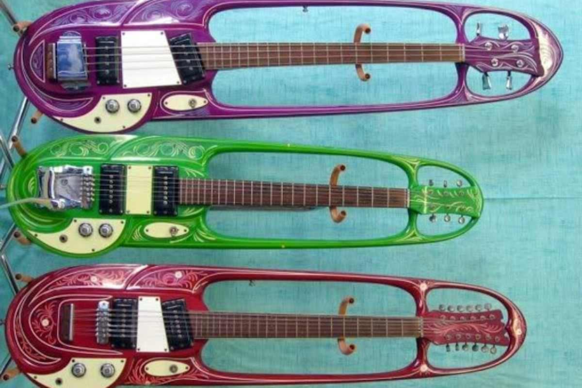 Mosrite, Strawberry Alarm Clock, chitarra, scheda, Stone Music, psichedelia, Ed King, curiosità, strumenti, chitarra elettrica