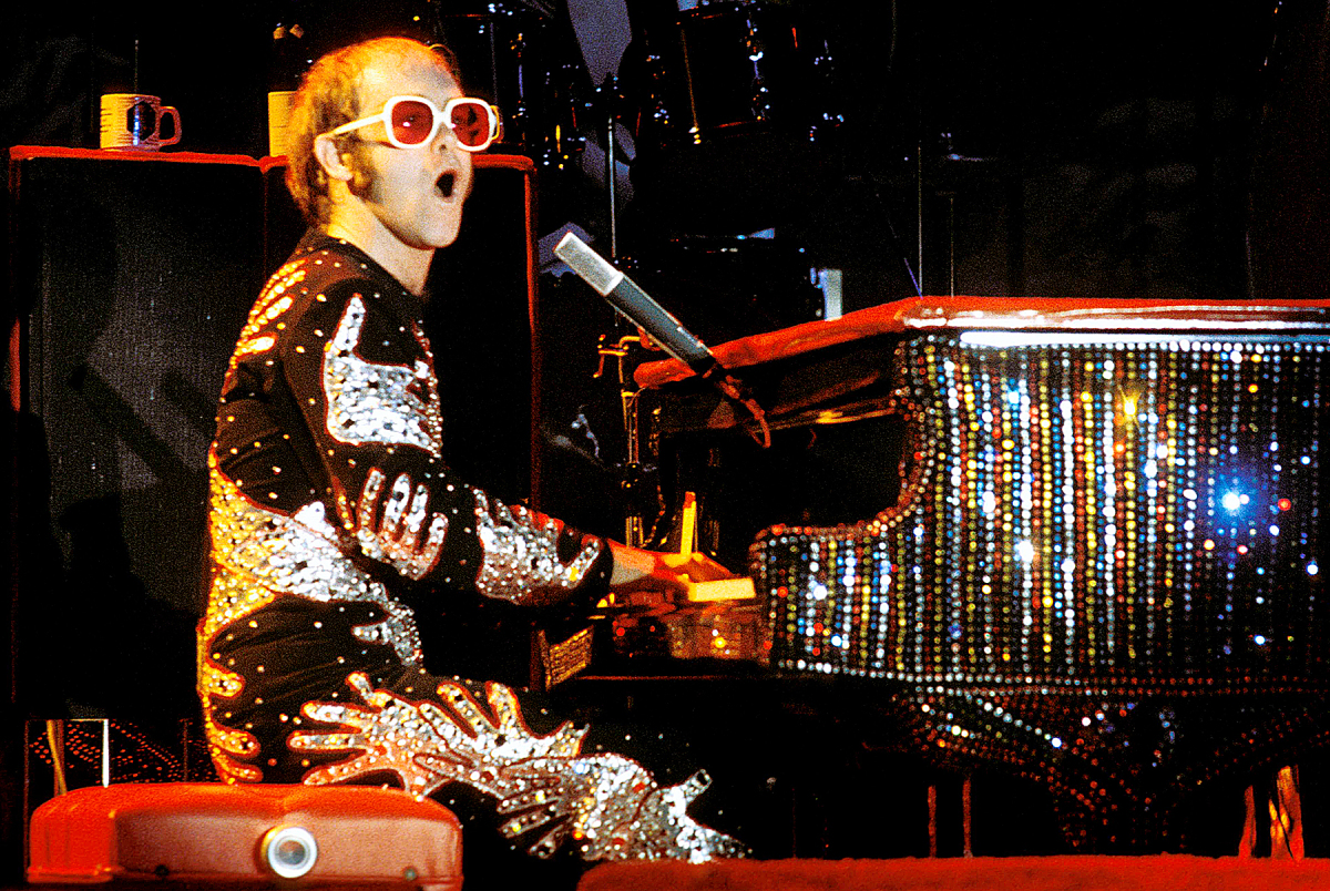 Elton John, Here and There, Classic Rock, Stone Music, Live, Album, recensione