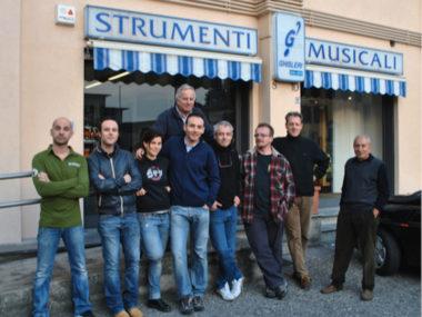 Negozi, musica, Lombarida Italia , Ghisleri Antica Casa Musicale , Bergamo