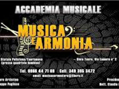 """Scuole, musica, Calabria, Associazione Musicale """"Musica & Armonia"""" ,Cittanova (RC)"""