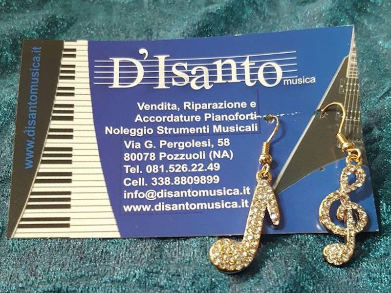 Negozi, musica, Campania, D'Isanto Strumenti Musicali , Pozzuoli ,(NA)
