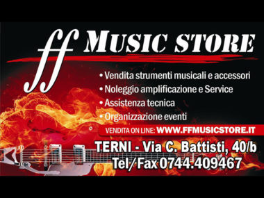 Negozi, musica, Umbria, FF Music Store , Terni