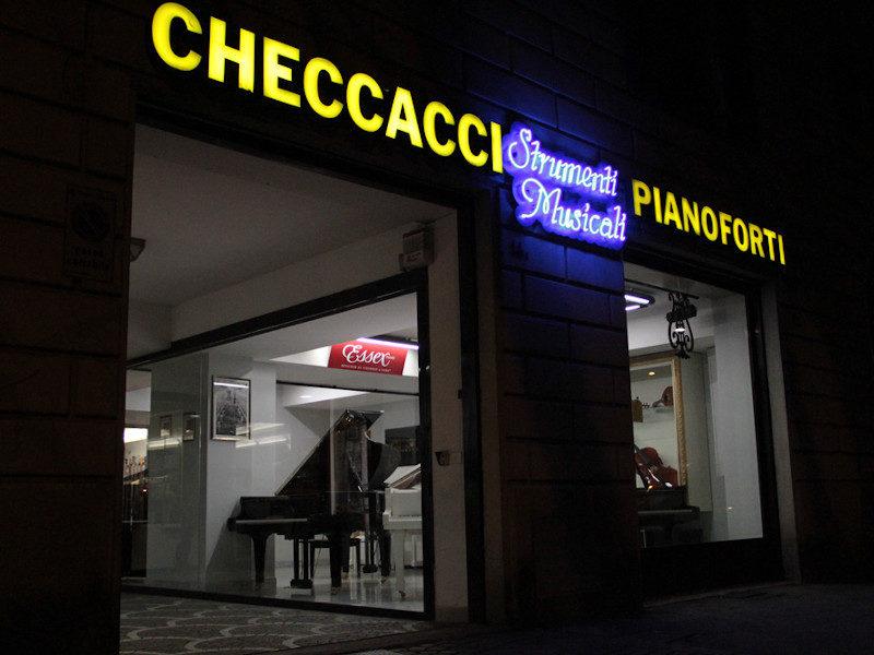 Negozi, musica,Checcacci Pianoforti , Firenze, Toscana