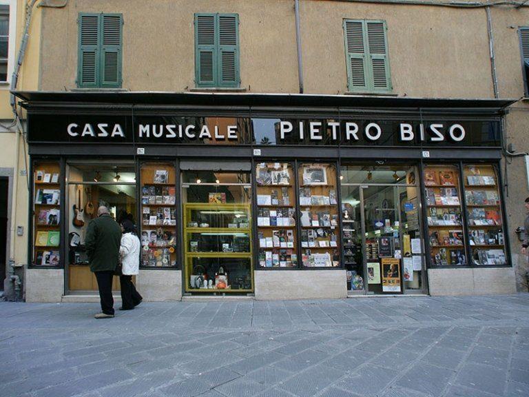 Negozi, musica, Casa Musicale Pietro Biso , La Spezia, Liguria, Italia