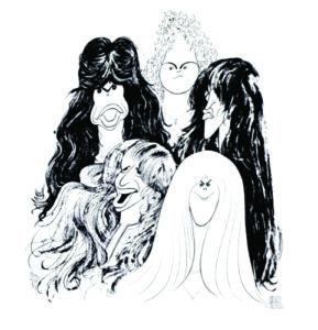 Aerosmith draw the line